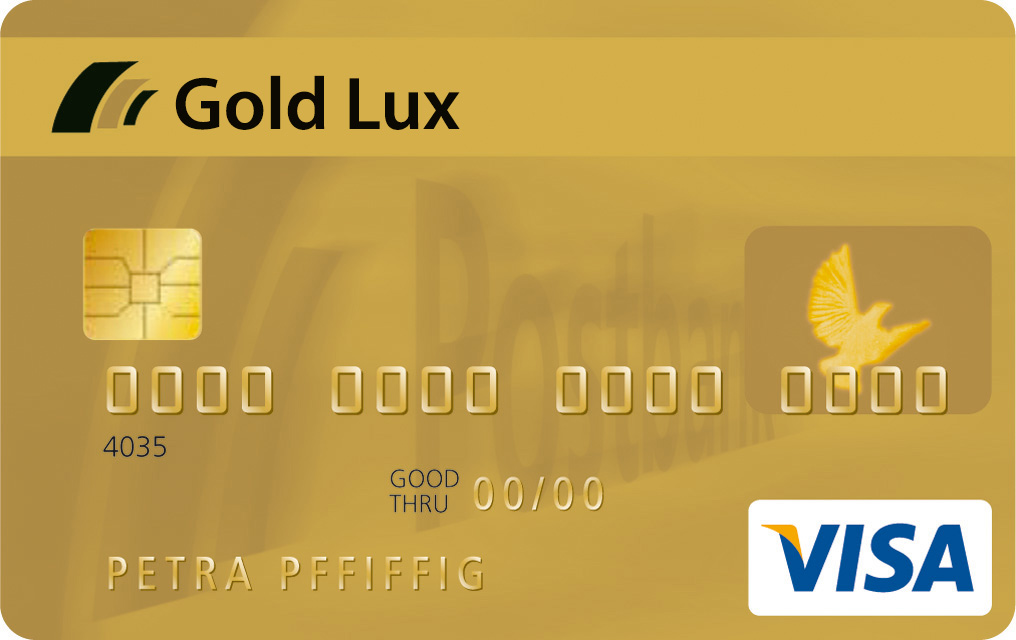 ویزا کارت گلد لوکس - Gold Lux VISA Card